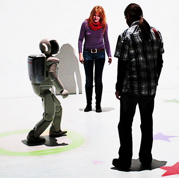 Is the simulated world itself conscious without the conscious actor using the interface technology?
